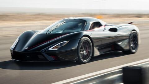 El auto de producción más rápido del mundo superó los 500 km/h
