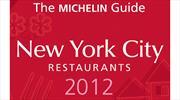 Michelin presenta su nueva guía New York City 2012