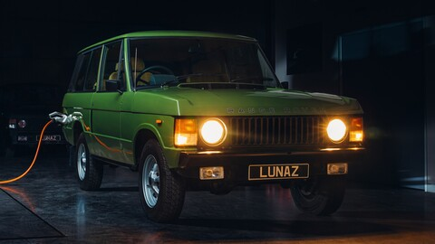Lunaz convierte a los Range Rover clásicos en camionetas totalmente eléctricas