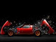 Lamborghini Miura, inspiración de una espectacular creación fotográfica
