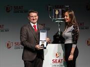 SEAT, pisa fuerte en España y es el patrocinador oficial de la Copa del Rey