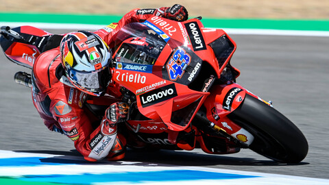 MotoGP 2021: Ducati mete miedo en Jerez