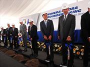 Michelin coloca la primera piedra de su nueva planta en México
