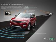 Las próximas Land Rover detectarán baches y darán aviso a las autoridades