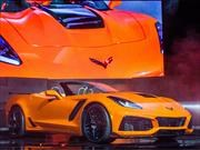 Chevrolet Corvette ZR1 Convertible 2019, súper auto sin techo