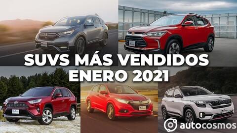 Los 10 SUVs más vendidos en enero 2021