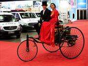 El primer vehículo a motor de la historia está en Fenatran 2014