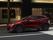 Mazda CX-3, con nuevo motor y pocos cambios estéticos