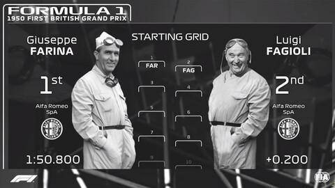 ¿Cómo se vería la primera carrera de la F1 con los gráficos de hoy?