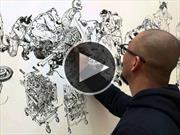 Increíbles obras de arte del mundo de las ruedas