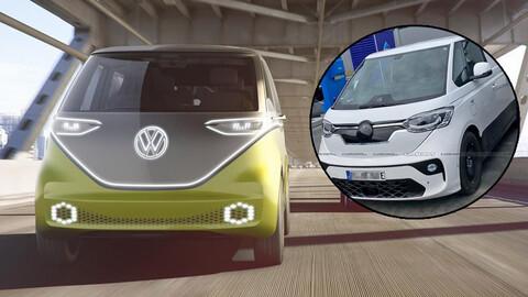 """La """"combi eléctrica"""" de Volkswagen ya fue espiada en la calle"""