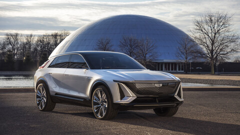 Cadillac LYRIQ, así se ve el futuro SUV eléctrico de la marca
