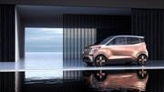 Nissan IMk: movilidad urbana del futuro
