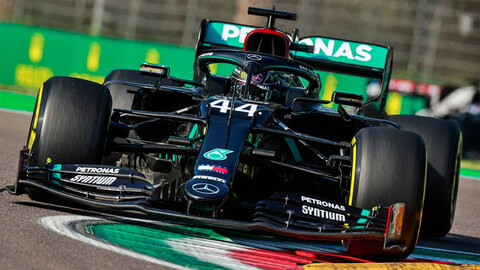 F1 GP de Emilia Romagna 2020: Lewis Hamilton venció en Imola y Mercedes logró el campeonato