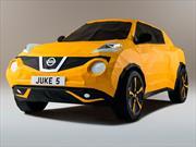 Un Nissan Juke creado con origami