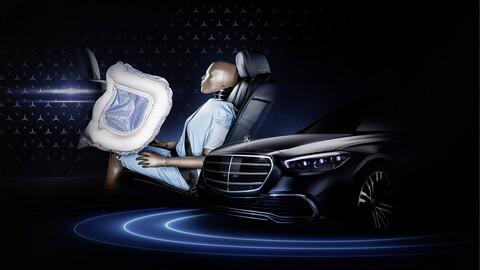 El nuevo Clase S de Mercedes Benz tendrá airbags frontales para plazas traseras