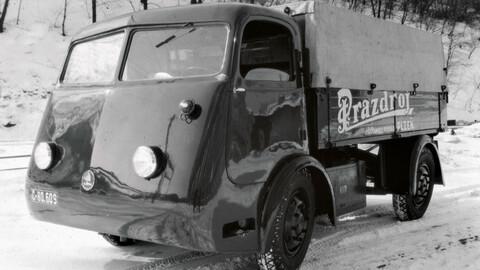 Skoda fabricó una flota de camiones eléctricos en 1939