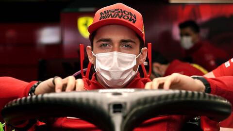 F1 2021: Charles Leclerc, el mejor en el arranque del Gran Premio de Mónaco