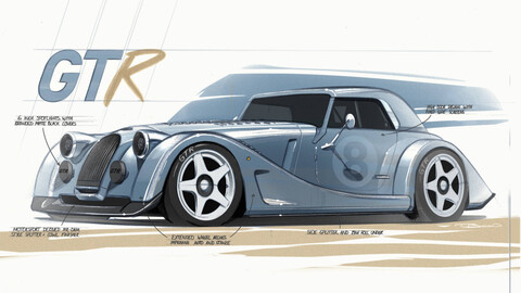 Morgan Plus 8 GTR: Regreso bien exclusivo