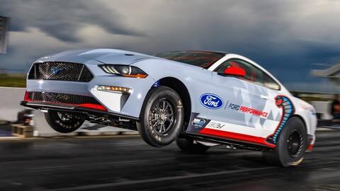 Ford Mustang Cobra Jet 1400 registra 1,500 hp, esto es 100 hp más de lo prometido