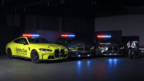 BMW M devela los safety car del MotoGP 2021