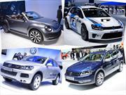 VW muestra los Passat Alltrack, Beetle Cabrio, Touareg Hybrid y Polo WRC.