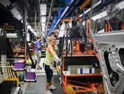 A huelga la planta de General Motors en Canadá