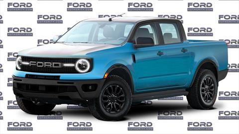 La nueva Ford Courier tendría estética de Bronco