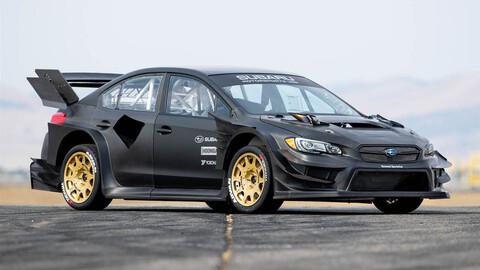 Subaru presenta una bestial edición del STI para las Gymkhanas de Travis Pastrana