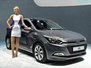 El Hyundai i20 se muestra en el Salón de la cd. luz