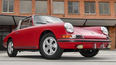 Mirá como quedó este Porsche 911 S Targa muy especial