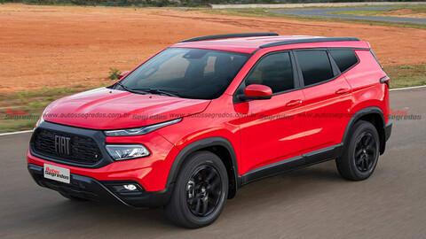 El SUV del FIAT Toro llega en 2023 y ya sabemos su tamaño