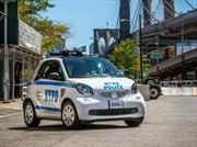 El smart fortwo es el nuevo patrullero de Nueva York