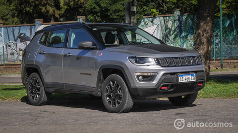 Test Jeep Compass Trailhawk: off road y turbodiesel