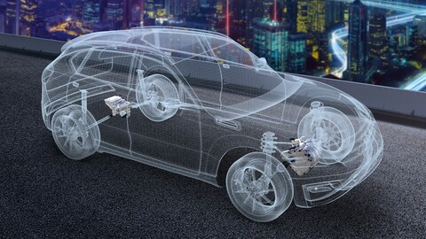 LG y Magna crean una empresa proveedora de componentes para autos eléctricos
