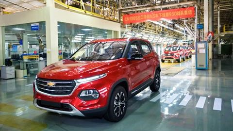 Chevrolet Captiva inicia producción en China