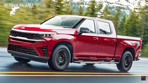 KIA presentará una pickup que competirá con Toyota Hilux y Ford Ranger para 2022
