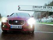 Video: El Jaguar XE S al límite en el circuito de Spa-Francorchamps