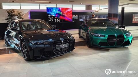 Los nuevos BMW M3 y M4 2021 debutan oficialmente en Chile