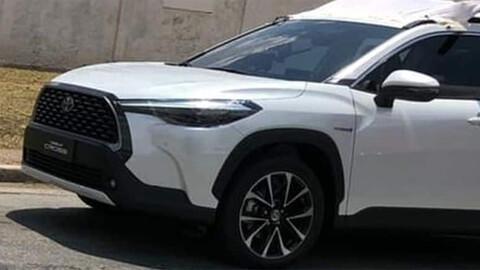 Toyota Corolla Cross el SUV que viene a Argentina sin disfraz