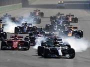 F1 2017: Ricciardo, Bottas y Stroll, podio inédito en loca carrera de Azerbaiyan