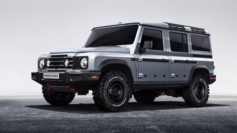 INEOS Grenadier, el primer vehículo de la marca será un 4x4 que compita contra el Defender