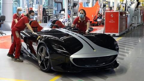 Ferrari le dará un bono a sus empleados por lo hecho en 2020