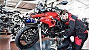 Aliste su moto para la temporada de lluvias