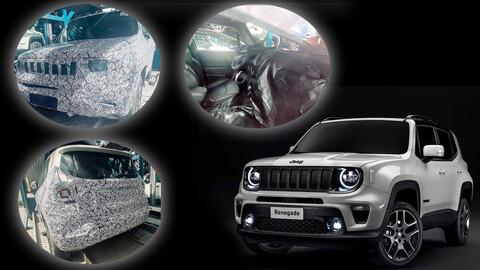 Jeep Renegade 1.3 Turbo llegará con rediseño interior y exterior