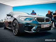 BMW M5 2019 fue protagonista en el BMW M Power Tour 2018