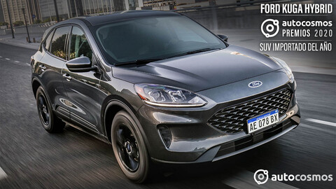 Premio Autocosmos SUV Importado 2020: Ford Kuga Hybrid