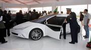 Saroukh el-Jamahiriya, el auto diseñado por Muammar Gaddafi