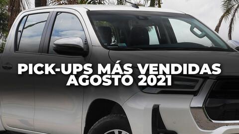 Top 10: Las pick-ups más vendidas de Argentina en agosto de 2021