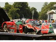 Un invaluable Mazda 787B es destruido en el Goodwood Festival of Speed 2015